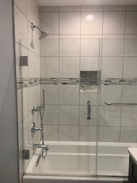 Custom Glass Shower/Tub Door