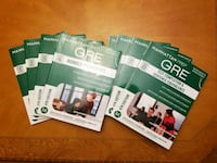 Complete Set of Manhattan Prep GRE Exam Prep Books Worcester, 01606