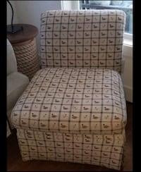 Duck Fabric Chair