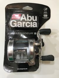 NEW Abu Garcia Ambassadeur S 5500 open face fishing reel
