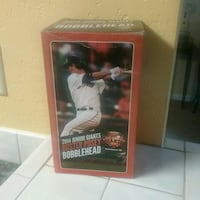 2014 Junior Giants Buster Posey bobblehead box Newark, 94560