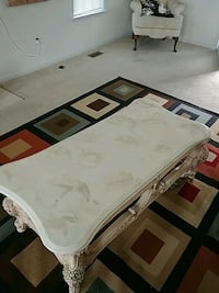 white and black wooden table Raleigh, 27603