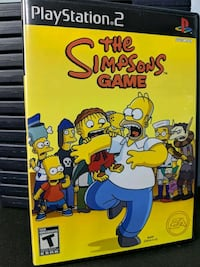The Simpsons Game PS2 Toronto, M3A 2W4