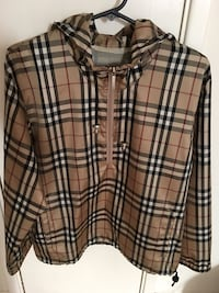 BURBERRY PULLOVER JACKET