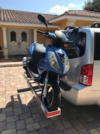 Scooter Car Towing Aluminum Rack Coral Springs