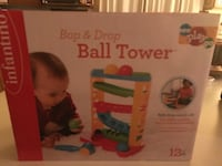 Bop and drop ball tower