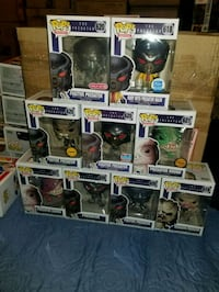 predator funko pop set (FIRM PRICE) Toronto, M1L 2T3