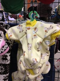 Dog onesies with soft cotton lining