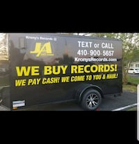 We buy record collections. We come to you and haul Parkville