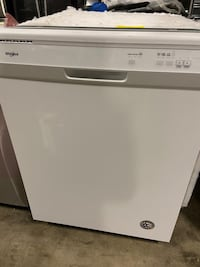 "Dishwasher Whirlpool 24"" Built-in White"
