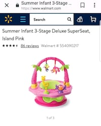 Summer infant 3 stages booster seat Cumberland, 02864