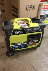 Ryobi Bluetooth 2,300-Watt Super Quiet Gasoline Powered Digital Inverter Generator Garden Grove, 92843