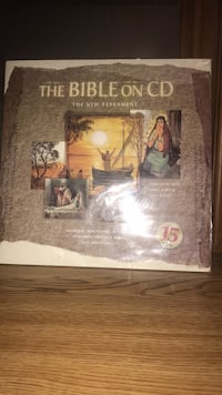 15 CDs containing the entire Bible Waterloo, N2J 4S7
