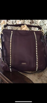 Coach Leather Studded Bag - Authentic *BNWT*RESERVED PPU Richmond, V7E 6S2