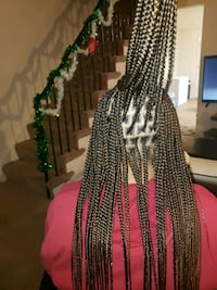 knotless braids Baltimore