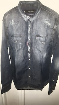 chemise homme dsquared