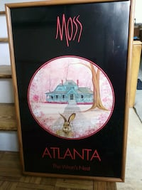 P. Buckley Moss Atlanta The Wren's Nest Poster Framed