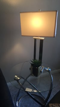 Lamp and table with plants  Lake Forest, 92610
