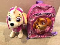 Paw Patrol Skye Backpack & Large Plush Sahuarita, 85629