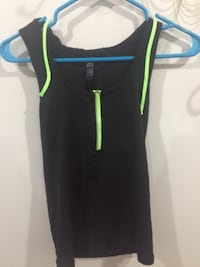 black and green Nike tank top Surrey