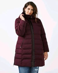 Plus size 4x winter coat, only worn once,   Surrey, V3R 2B2