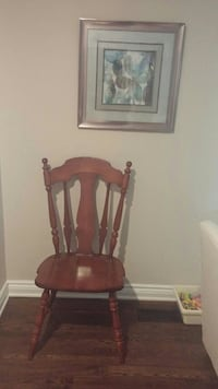 6 vintage chairs made by Vilas Ottawa, K2G 5W5