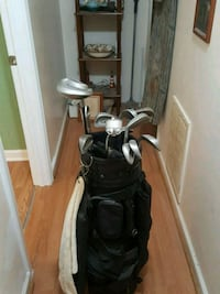 Golf clubs and bag Colbert, 30628