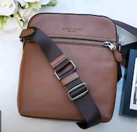 HOUSTON FLIGHT BAG mens Crossbody  new with tag. authentic coach Vaughan, L6A