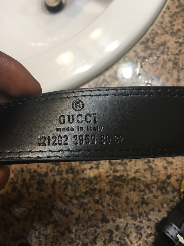Gucci Belt Serial Number >> New Real Original Gucci Belt