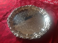 round clear cut glass bowl Hagerstown, 21740
