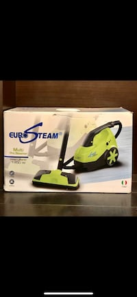 BRAND NEW EURO STEAM MULTI PRO STEAM CLEANER WITH EXTRA ACCESSORIES