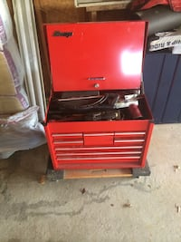 red and black tool chest Joliet, 60586