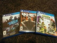 four PS4 game cases Sioux City, 51105