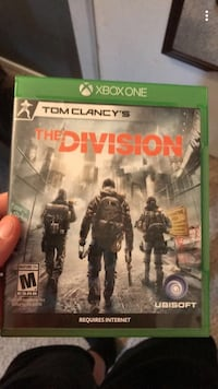 Xbox One Tom Clancy's The Division game case