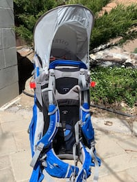 Osprey Poco Plus Child backpack carrier with rain cover Reno, 89502