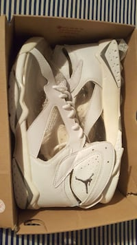 Jordan clear 7  size  13 no box used one time
