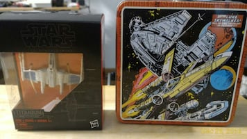 rare star wars x-wing titanium series with thinbox