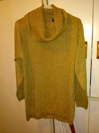 Gold sparkling sweater Grand Junction, 81504