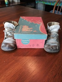 40's/50's ERA EDWARDS Todlins High Top Toddlers le Goldsboro