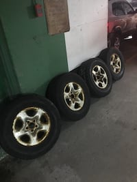 Winter tires set Michelin
