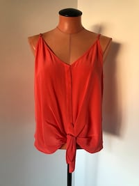 Silk Top Size Small
