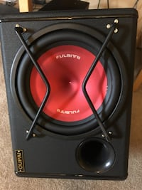 black and red JBL 1000 watts subwoofer Clarkstown, 10954