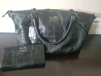 Authentic Coach Leather Bag and Wallet. Pickering