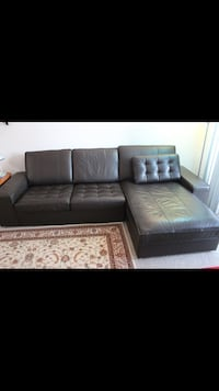 OBO- ikea real leather couch East Lake, 33610