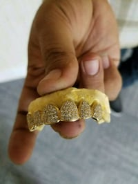 gold grill available