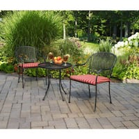 3pcs Bistro Set With Cushions
