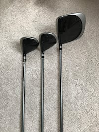 Men's Nike Sasquatch Driver, 3Wood and 5 Wood. Update: driver sold