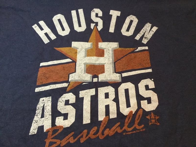 Houston Astros Large Hometown Shirt 1