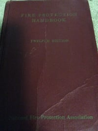 JUST REDUCED Fire Protection Handbook 12th Edition