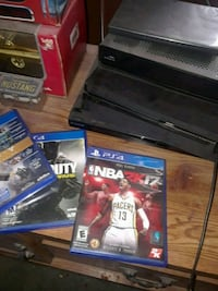 Sony PS4 game case lot Anderson, 29624